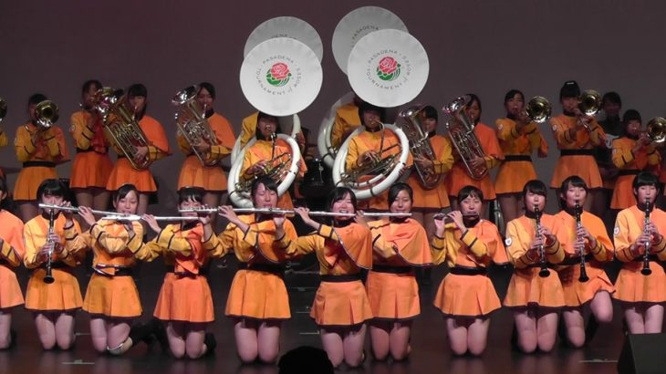Kyoto Tachibana HS Green Band Festival 2018  -1/3  Stage Marching Show