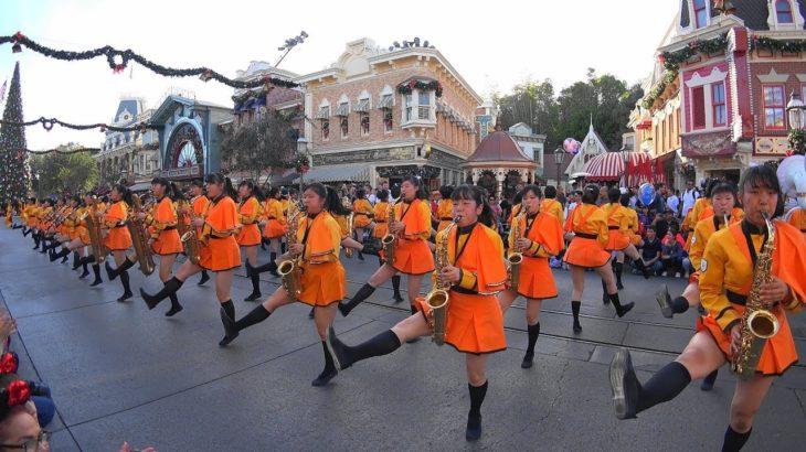 Kyoto Tachibana SHS Band – Disneyland(Anaheim) 2017 京都橘高校吹奏楽部